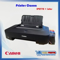(Sale) Printer Canon iP2770 Second sudah infus tinggal pakai
