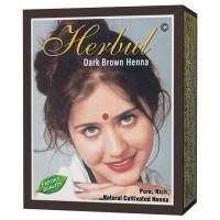 Herbul Dark Brown Henna Hair Dyes