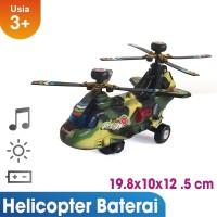 Mainan Pesawat Helicopter Military Chopter Word Class Mainan Anak 716