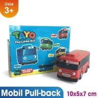 Tayo Little Bus Metal Mainan Bus Tayo