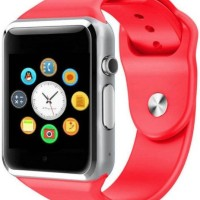 Bluetooth Smart Watch A1 Camera + Sim Phone + Memori Card MERAH