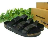 Jual sandal / sendal fashion pria handmade model brikenstock / birkenstock Murah