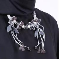 Your Hands Jewelry Aza Grey Necklace