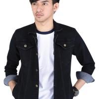 SALE jaket jeans levis hitam pria distro original terbaru ctnz 636 ja