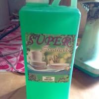 Sabun Cuci Piring SUPER SUNLIGHT - bersih Cling Clean SPL MSL Mawar