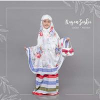 Mukena Rayon Bali Zaskia Untuk Anak SD