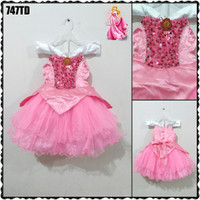 BAJU PRINCESS ANAK AURORA / KOSTUM DRESS PESTA AURORA COSTUME