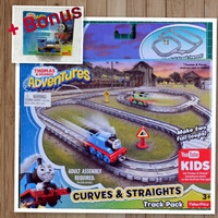 Fisher-Price Thomas and Friends Adventures Curves & Straights Track