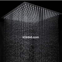 Rain Shower Ceiling Grande 50 x 50cm / 20 inch bahan full stainless