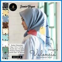 Segi Empat Valencia 3 Murah - Grosir Jilbab - Hijab Instan Murah