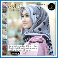 Segi Empat Malora 3 Murah - Grosir Jilbab - Hijab Instan Murah
