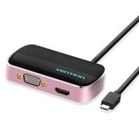 Vention CGC Adapter Converter USB 3.1 Type-C to HDMI VGA