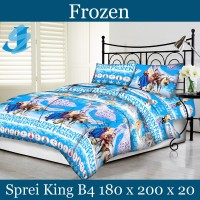Tommony Sprei King B4 180 x 200 - Frozen