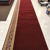 Karpet Masjid Roll Tebal Empuk Warna merah Bintik - Royal Tebriz