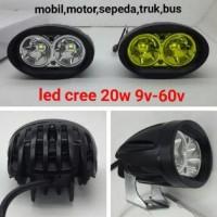 New! Lampu Sorot Led 20 W Untuk Motor Dan Mobil Berkwalitas
