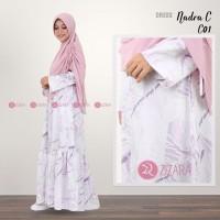 BEST SELLER TERBARU Gamis Zizara Nadra Dress Seri C01 baju muslim wan