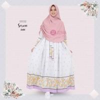 BEST SELLER TERBARU Gamis Zizara Seruni Dress Ee04 baju muslim wanita