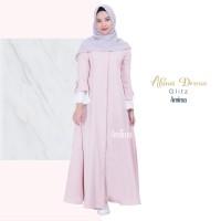 BEST SELLER ORIGINAL Gamis Amima Aluna Dress Glitz baju gamis wanita