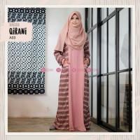 BEST SELLER ORIGINAL Gamis Zizara Qirani A03 baju muslim wanita baju