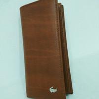 Dompet kartu uang kertas koin leather