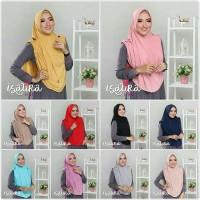 Jilbab Isaura Instan Jersey Balon Super Fashion Hijab Syari Jaman Now