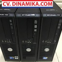 Komputer CPU PC Desktop dell core 2 duo branded ori murah garansi