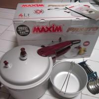 murah Panci Maxim Presto 4Liter Presto Pressure Cooker Maxim 4ltr