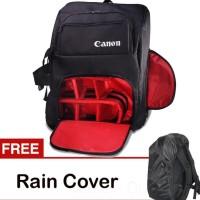 Tas Kamera Dslr Canon Model Backpack Ransel Kode G