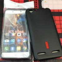 Silikon capdase karet hitam soft case lenovo k5+ k5 plus