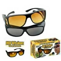 Alat Terapi Kesehatan kacamata hd vision isi 2 hitam dan kuning siang
