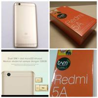 Ready Hp Xiaomi Xiomi Redmi 5A 5 A Ram 2GB ROM 16GB Gold Garansi TAM