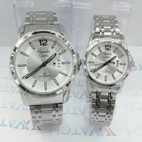 JAM TANGAN COUPLE PRIA WANITA BRANDED,ALEXANDRE CHRISTIE MC ORIGINAL