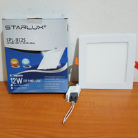 LED panel starlux 12Watt Square