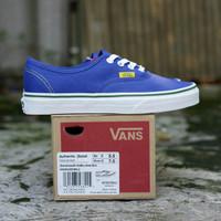 TERMURAH! Sepatu Pria Vans Authentic Soltstice Blue Original 100%