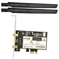 Intel Dual Band Wireless-AC 7265 PCI-E Desktop Adapter + Bluetooth 4.2