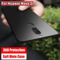 SoftCase Huawei Nova 2i Honor Mate 10 Lite Casing Hp Case Slim Cover