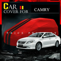 cover bodi mobil sedan toyota camry sarung penutup bodi anti air premi