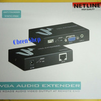 VGA Audio Extender 100Meter over Lan