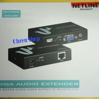 VGA Audio Extender 100Meter over Lan