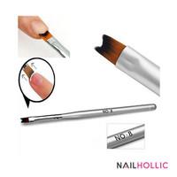 Nail french brush / kuas kuku nail art