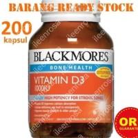 Jual READY STOCK - Blackmores Vitamin D3 1000IU (200 tabs) ~ TERLARIS Murah