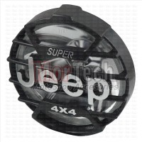 Reflektor Headlamp Lampu Depan Custom Japstyle - Caferacer Jeep Hitam