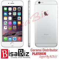 iPhone 6 (128Gb) ORIGINAL GARANSI DISTRIBUTOR 1TAHUN GREY