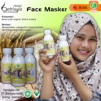 Batrisyia Herbal Masker Wajah Bubuk 60ml | Terbuat dari Beras Organik