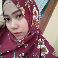 Scarf Hijab Segi Empat / Jilbab Kerudung Wolfis Motif Terbaru Murah Mu