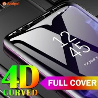 9H Tempered glass Samsung S9 S8 PLUS S8+ Note 8 9 S10 CURVE - Putih