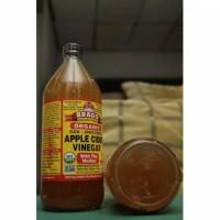 Exp 2021 946ml Cuka Apel Organik BRAGG Apple Cider Vinegar