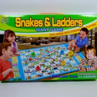 Giant Snake and Ladder Mainan Ular Tangga Besar
