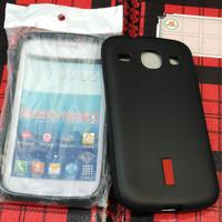 Silikon capdase soft case karet hitam Samsung core1 core 1 i8260 i8262