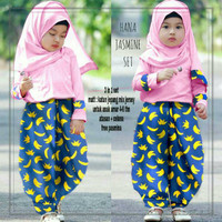 Harga pakaian anak perempuan 03 3in1 banana kid   Pembandingharga.com